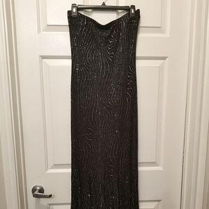 Black Fitted Mermaid Dress